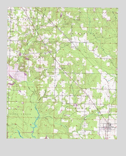 boggy creek arkansas map Fouke Ar Topographic Map Topoquest boggy creek arkansas map