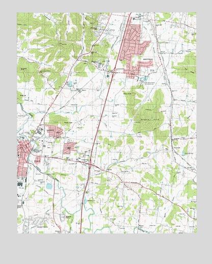 Tn Elevation Map.Franklin Tn Topographic Map Topoquest