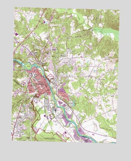 Fredericksburg Va Map >> Fredericksburg Va Topographic Map Topoquest