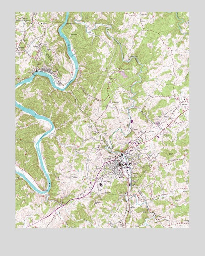 Galax Va Topographic Map Topoquest