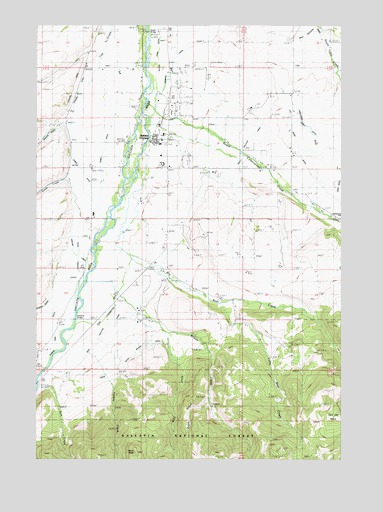 Gallatin Gateway, MT USGS Topographic Map