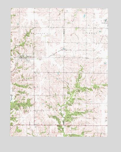 Garden Grove IA Topographic Map  TopoQuest