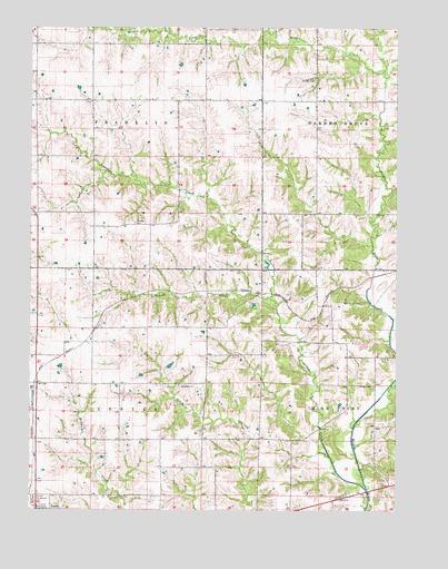Garden Grove SW IA Topographic Map  TopoQuest