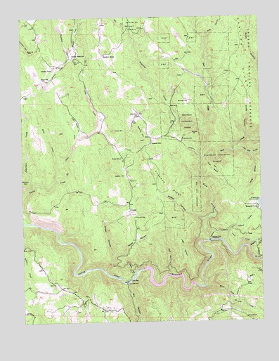 garden valley ca usgs topographic map - Garden Valley Ca