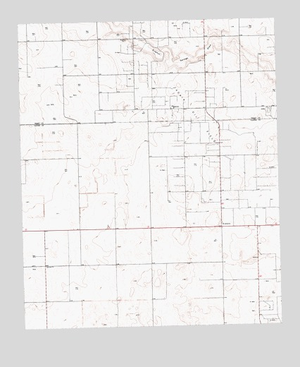 Ashmore, TX USGS Topographic Map