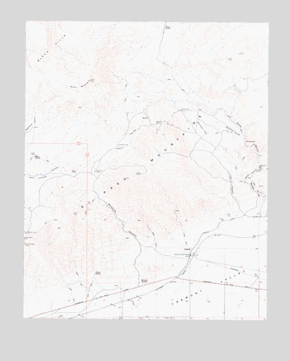 Garlock, CA USGS Topographic Map