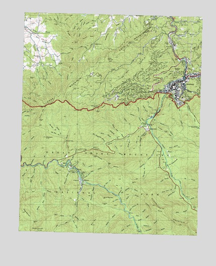 Gatlinburg, TN Topographic Map - TopoQuest