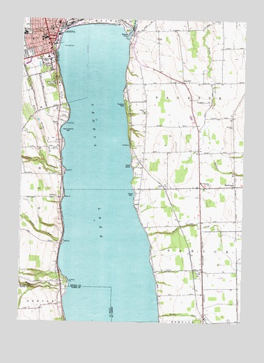 Nys Elevation Map.Geneva South Ny Topographic Map Topoquest