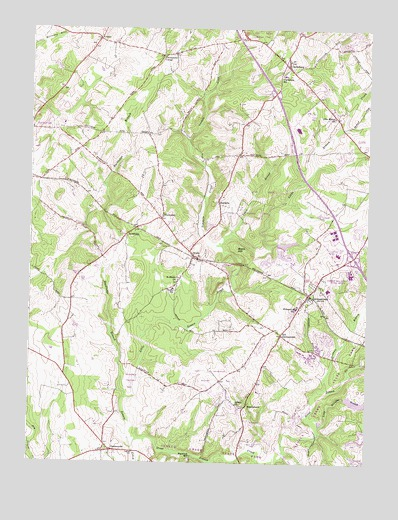 Germantown Md Topographic Map Topoquest