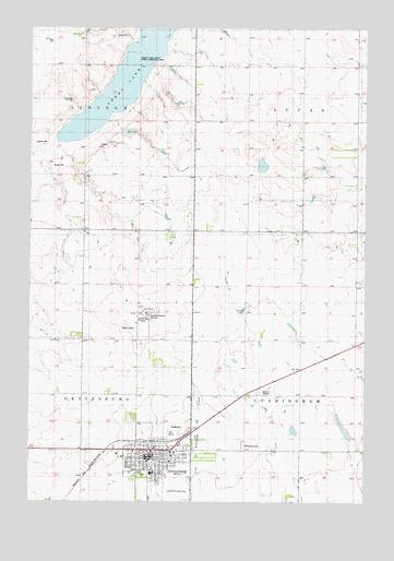 Gettysburg Topographic Map.Gettysburg Sd Topographic Map Topoquest