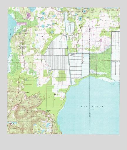 Astatula Fl Topographic Map Topoquest