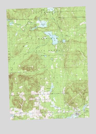 Atlanta Mi Map Atlanta, MI Topographic Map   TopoQuest