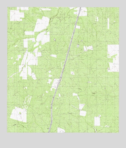 Atlee, TX USGS Topographic Map