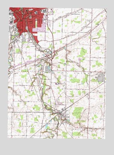 Grafton Oh Topographic Map Topoquest