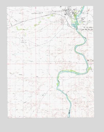 Green River UT Topographic Map TopoQuest - Topographic map of utah