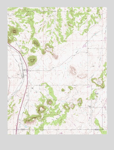 Greenland, CO Topographic Map - TopoQuest