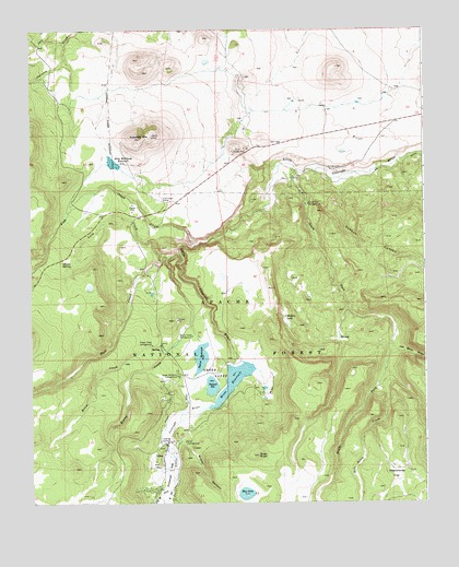 Greer AZ Topographic Map  TopoQuest