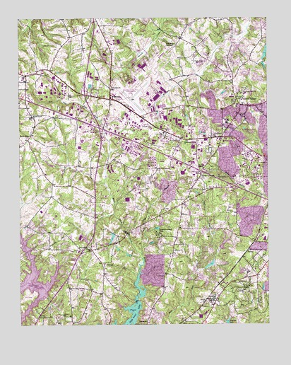 Guilford, NC USGS Topographic Map