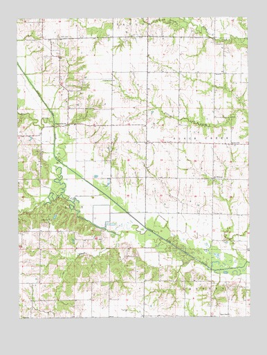 Hagers Grove, MO USGS Topographic Map