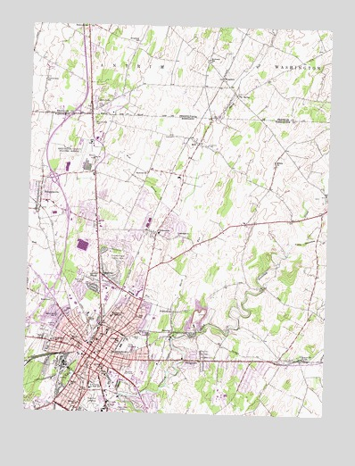 Hagerstown, MD Topographic Map - TopoQuest on