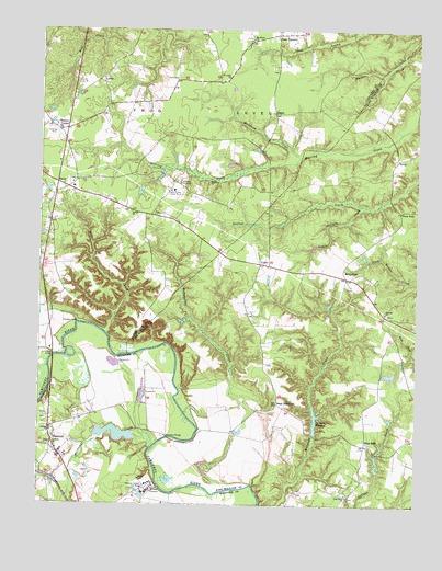 Hanover Va Topographic Map Topoquest