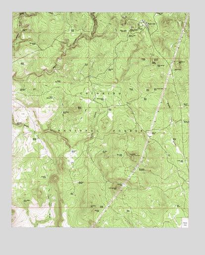 Happy Jack Arizona Map.Happy Jack Az Topographic Map Topoquest