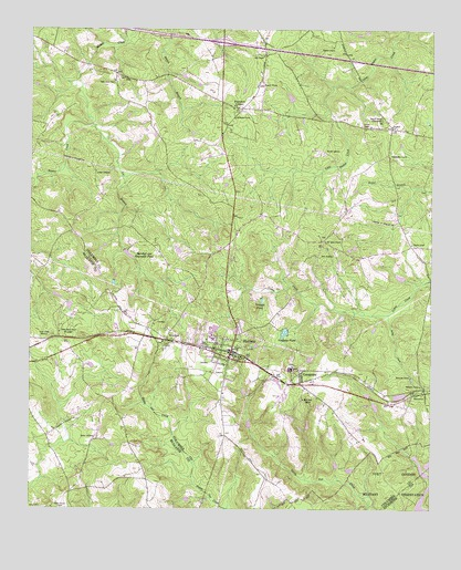 Harlem, GA USGS Topographic Map