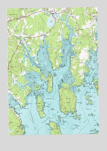 Harrington Maine Map.Harrington Me Topographic Map Topoquest