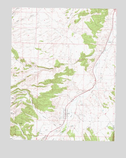 Hatch, UT USGS Topographic Map
