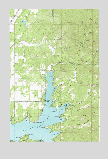 Hayden Lake, ID Topographic Map - TopoQuest