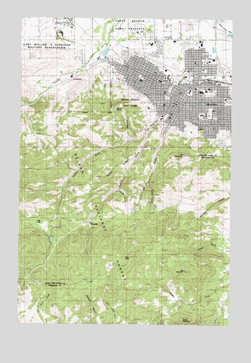 Helena Mt Topographic Map Topoquest