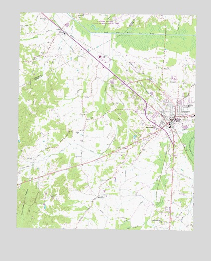 Henderson Tennessee Map.Henderson Tn Topographic Map Topoquest