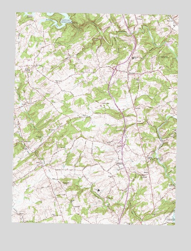 Hereford, MD USGS Topographic Map