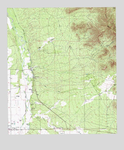 Hereford, AZ Topographic Map - TopoQuest