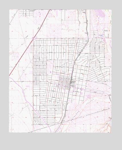 Hesperia, CA Topographic Map - TopoQuest