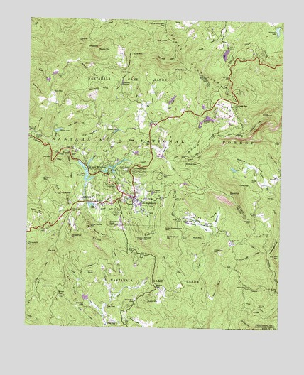 Highlands NC Topographic Map  TopoQuest