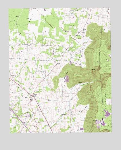 Hillsboro, TN Topographic Map - TopoQuest