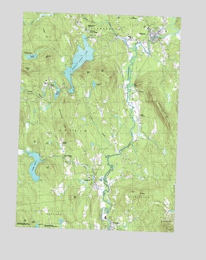 Hillsboro, NH Topographic Map - TopoQuest