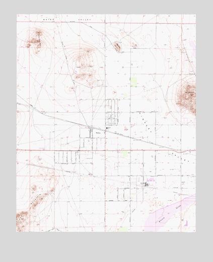 Hinkley Ca Topographic Map Topoquest