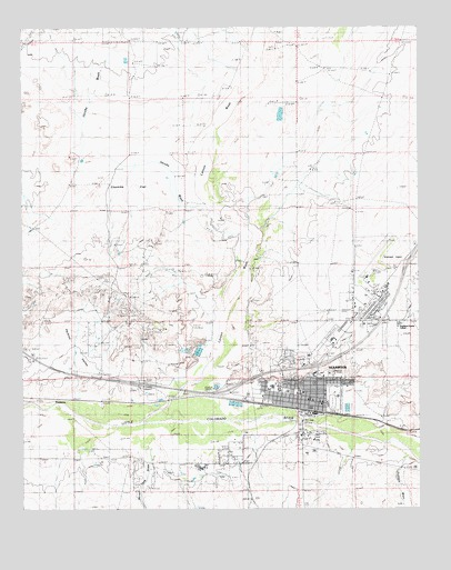 Holbrook az topographic map topoquest holbrook az usgs topographic map sciox Images