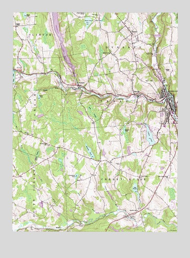 Honesdale, PA USGS Topographic Map