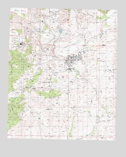 Bagdad AZ Topographic Map  TopoQuest