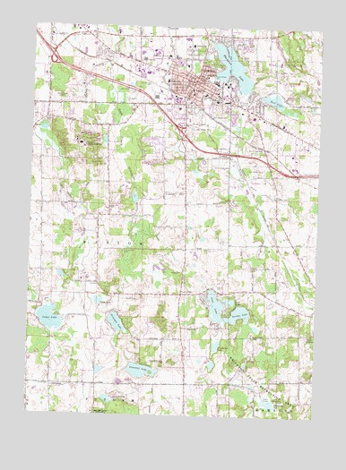 Howell (MI) United States  City new picture : Howell, MI Topographic Map TopoQuest