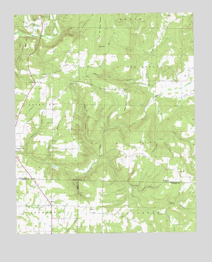 Huff, AR USGS Topographic Map