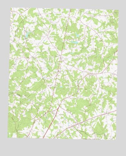 Hull GA USGS Topographic Map