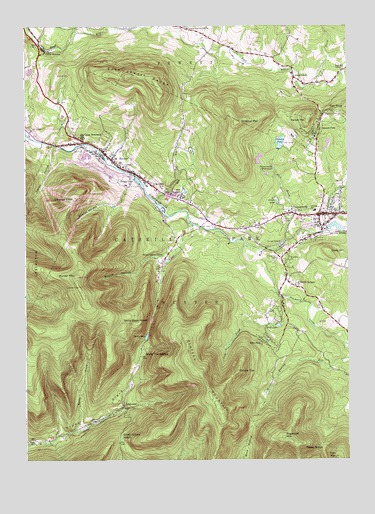 Nys Elevation Map.Hunter Ny Topographic Map Topoquest