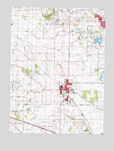Huntley Il Topographic Map Topoquest