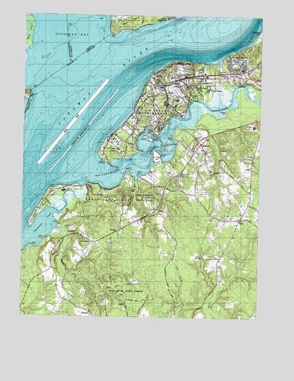 Indian Head Md Topographic Map Topoquest