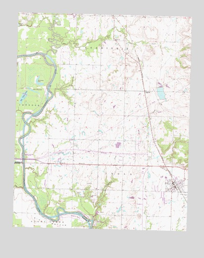 Inola, OK Topographic Map - TopoQuest