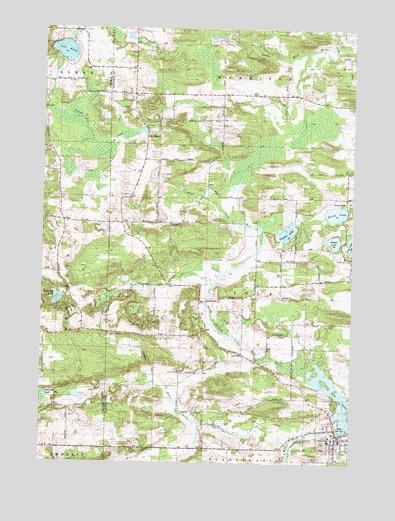 Iola Wi Topographic Map Topoquest